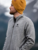 Men Heated Fleece Jacket - ORORO