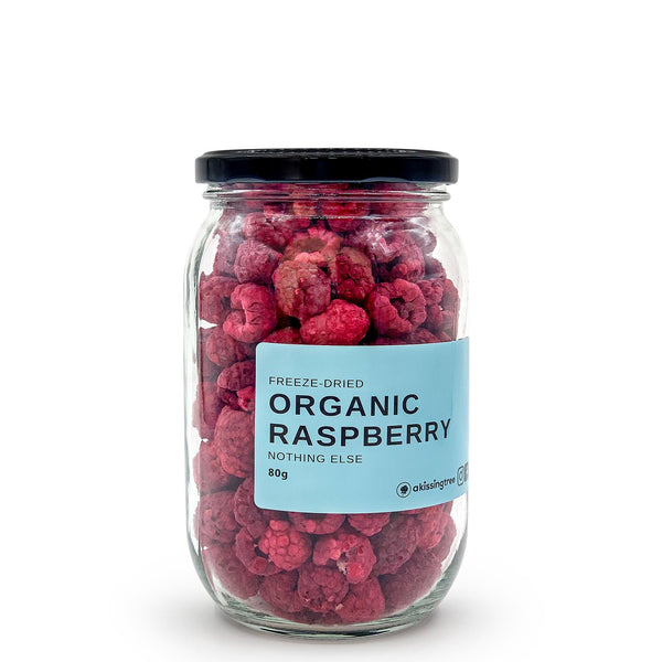 A Kissing Tree, Organic Freeze Dried Raspberry, 2.8oz/80g