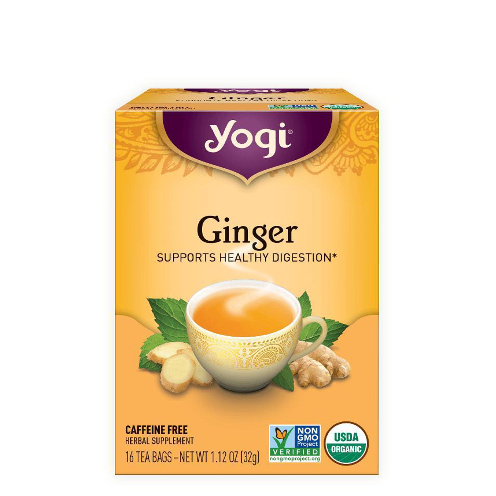 Yogi, Ginger - Supports healthy digestion, 16 Tea Bags