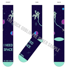 I Need Space - Concept Sock