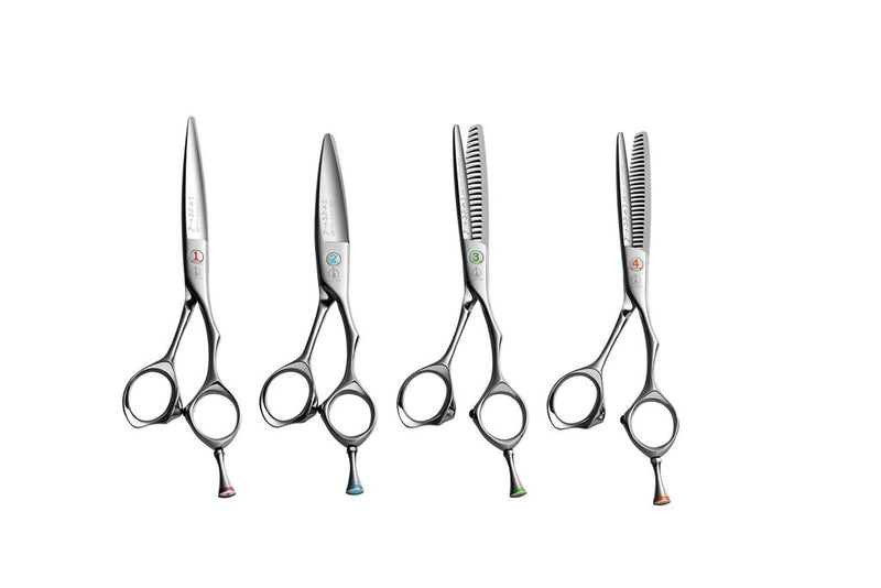 Mizutani Scissors Canada - Ichi-Nino-San Set of 4