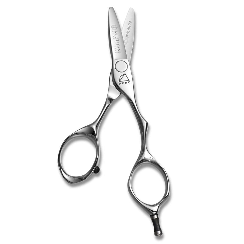 Mizutani Scissors Baby Leaf for precision slide cutting