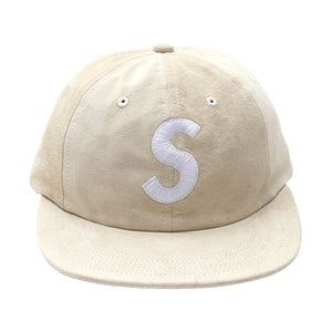 SUPREME SUEDE S LOGO 6 PANEL - OFF WHITE   Supreme & Sneakers resell E-Shop - Prague-Boutique.cz