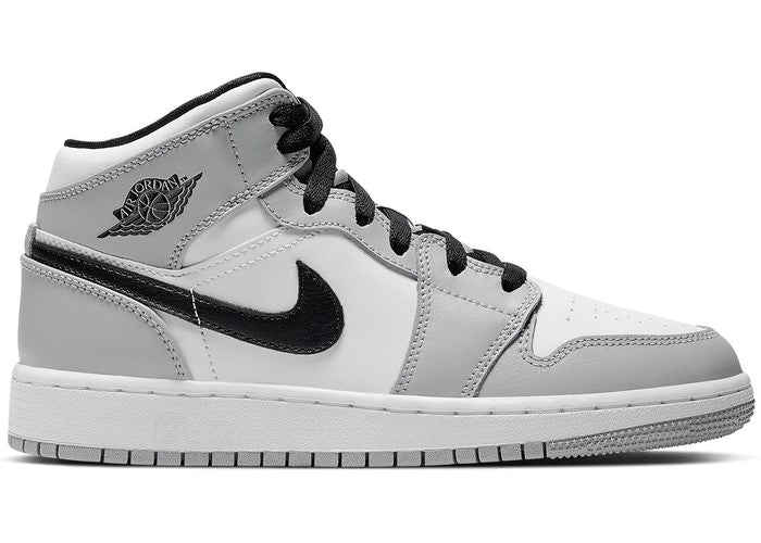 Air Jordan 1 Mid Light Smoke Grey (GS)   Supreme & Sneakers resell E-Shop - Prague-Boutique.cz
