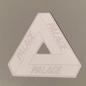 Palace Tri-Ferg Sticker (white)   Supreme & Sneakers resell E-Shop - Prague-Boutique.cz