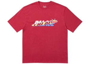 Palace Lique T-Shirt Dark Red   Supreme & Sneakers resell E-Shop - Prague-Boutique.cz