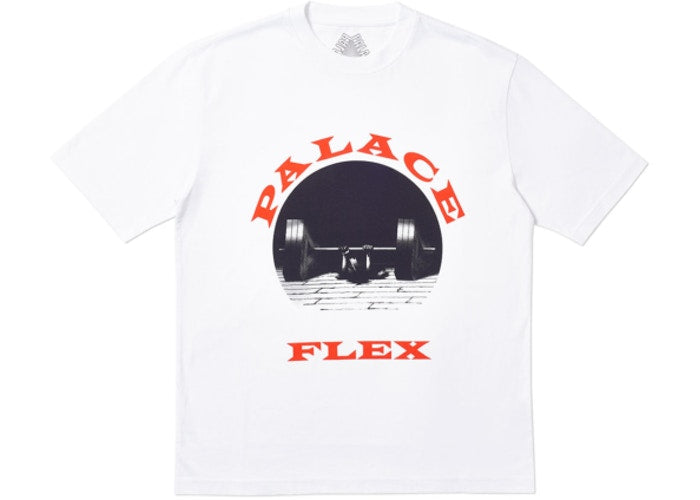 Palace P-Flex T-Shirt White   Supreme & Sneakers resell E-Shop - Prague-Boutique.cz