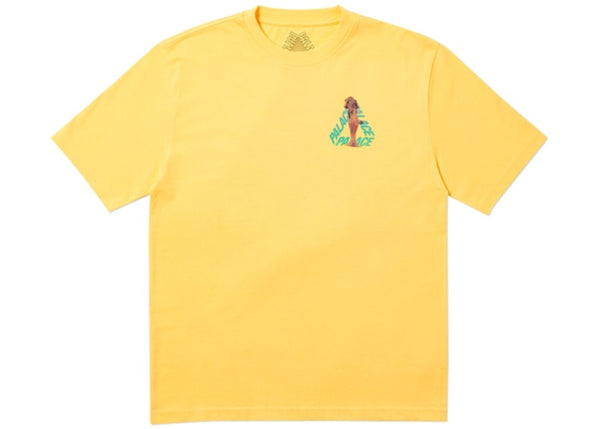 Palace Rolls P3 T-Shirt yellow   Supreme & Sneakers resell E-Shop - Prague-Boutique.cz