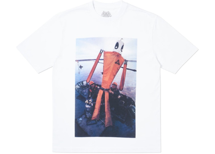Palace Slick T-Shirt White   Supreme & Sneakers resell E-Shop - Prague-Boutique.cz
