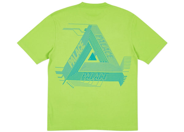 Palace Surkit T-Shirt Lime Green/Blue   Supreme & Sneakers resell E-Shop - Prague-Boutique.cz