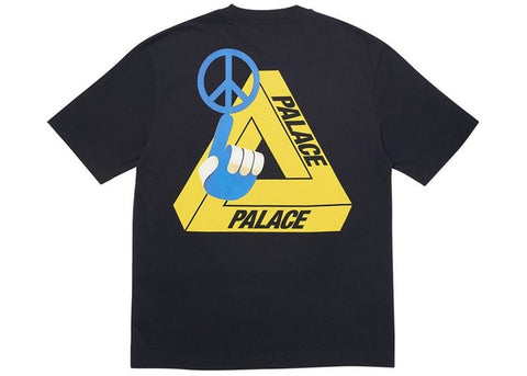 Palace Tri-Smiler Tee - Black   Supreme & Sneakers resell E-Shop - Prague-Boutique.cz