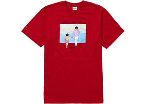 Supreme Heaven And Earth Tee Red   Supreme & Sneakers resell E-Shop - Prague-Boutique.cz