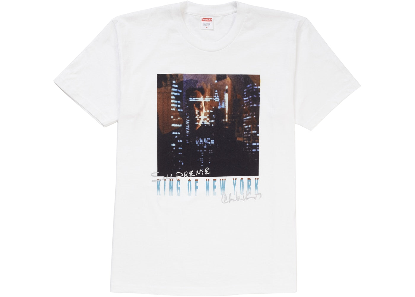 Supreme King of New York Tee - White   Supreme & Sneakers resell E-Shop - Prague-Boutique.cz