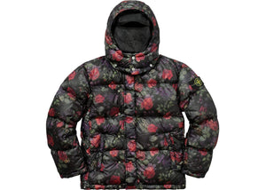 Supreme x Stone Island Floral Lamy Nylon Puffy Jacket Black Fall / Winter 2017   Supreme & Sneakers resell E-Shop - Prague-Boutique.cz