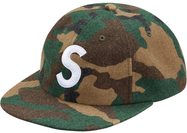Supreme Wool S Logo 6-Panel   Supreme & Sneakers resell E-Shop - Prague-Boutique.cz