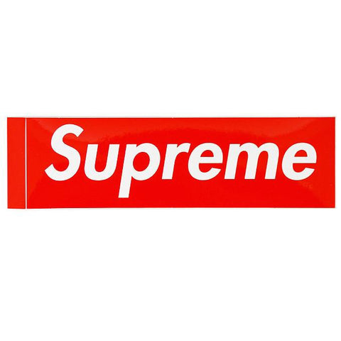 Supreme Sticker   Supreme & Sneakers resell E-Shop - Prague-Boutique.cz