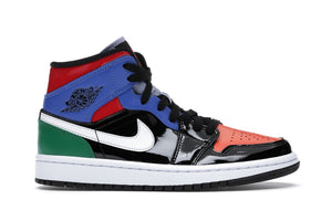 Jordan 1 Mid Multi Patent (W)   Supreme & Sneakers resell E-Shop - Prague-Boutique.cz