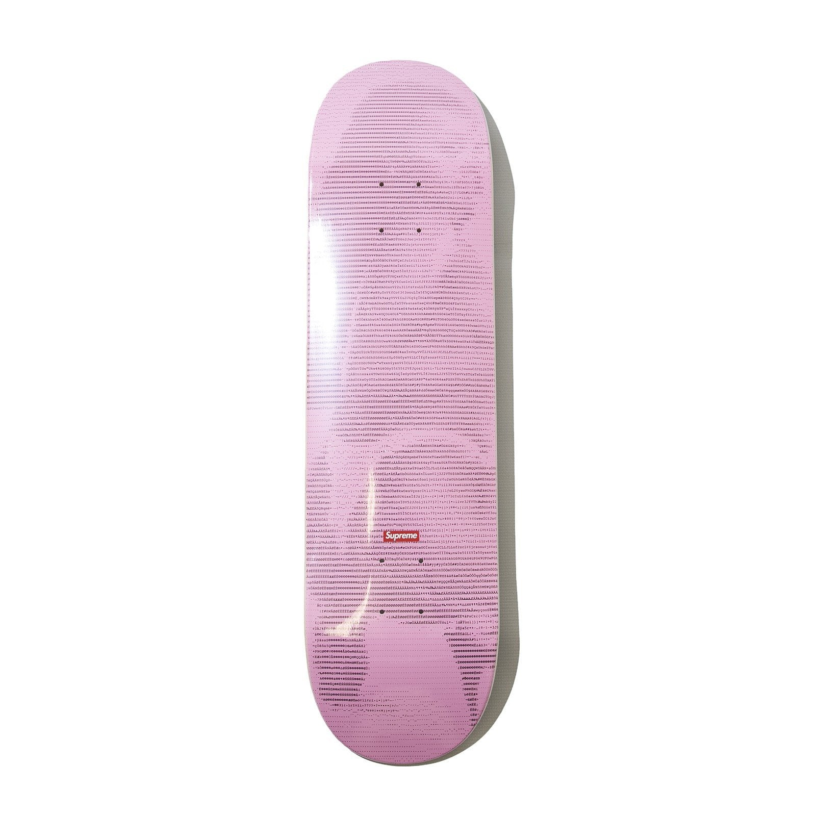 Supreme Digi Skateboard Deck Pink   Supreme & Sneakers resell E-Shop - Prague-Boutique.cz