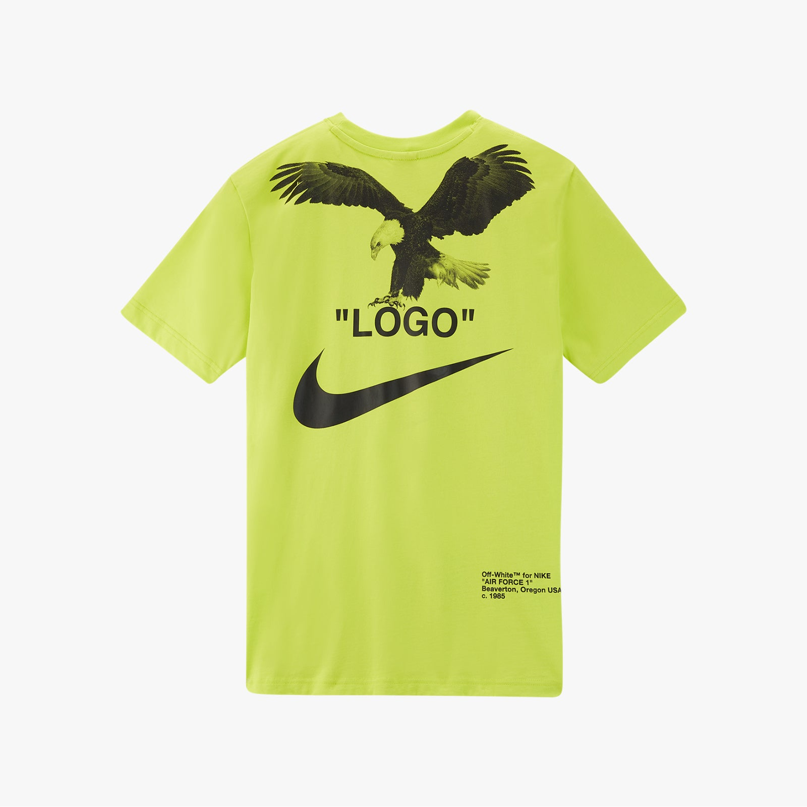 OFF-WHITE x Nike Tee - Lime Green   Supreme & Sneakers resell E-Shop - Prague-Boutique.cz
