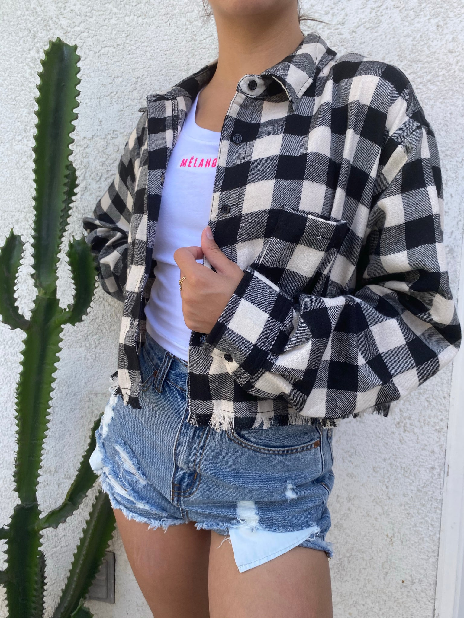 Charlie flannel 80% polyester 20% cotton Mélange Boutique