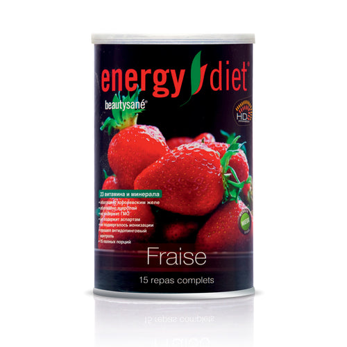 Energy Diet HD Strawberry Cocktail