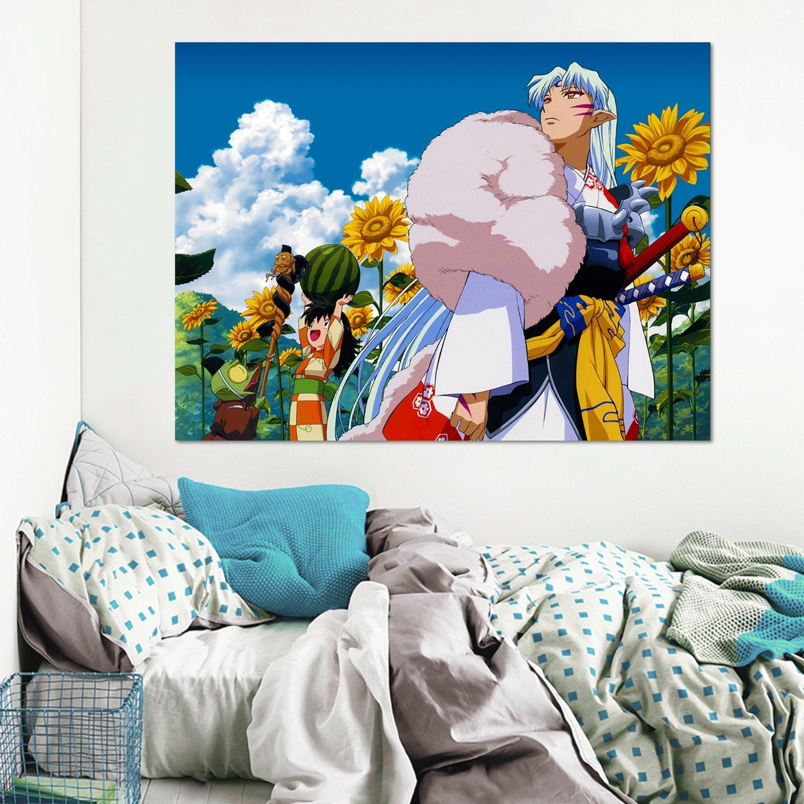 3D Inuyasha 7981 Anime Wall Stickers Wallpaper AJ Wallpaper 2