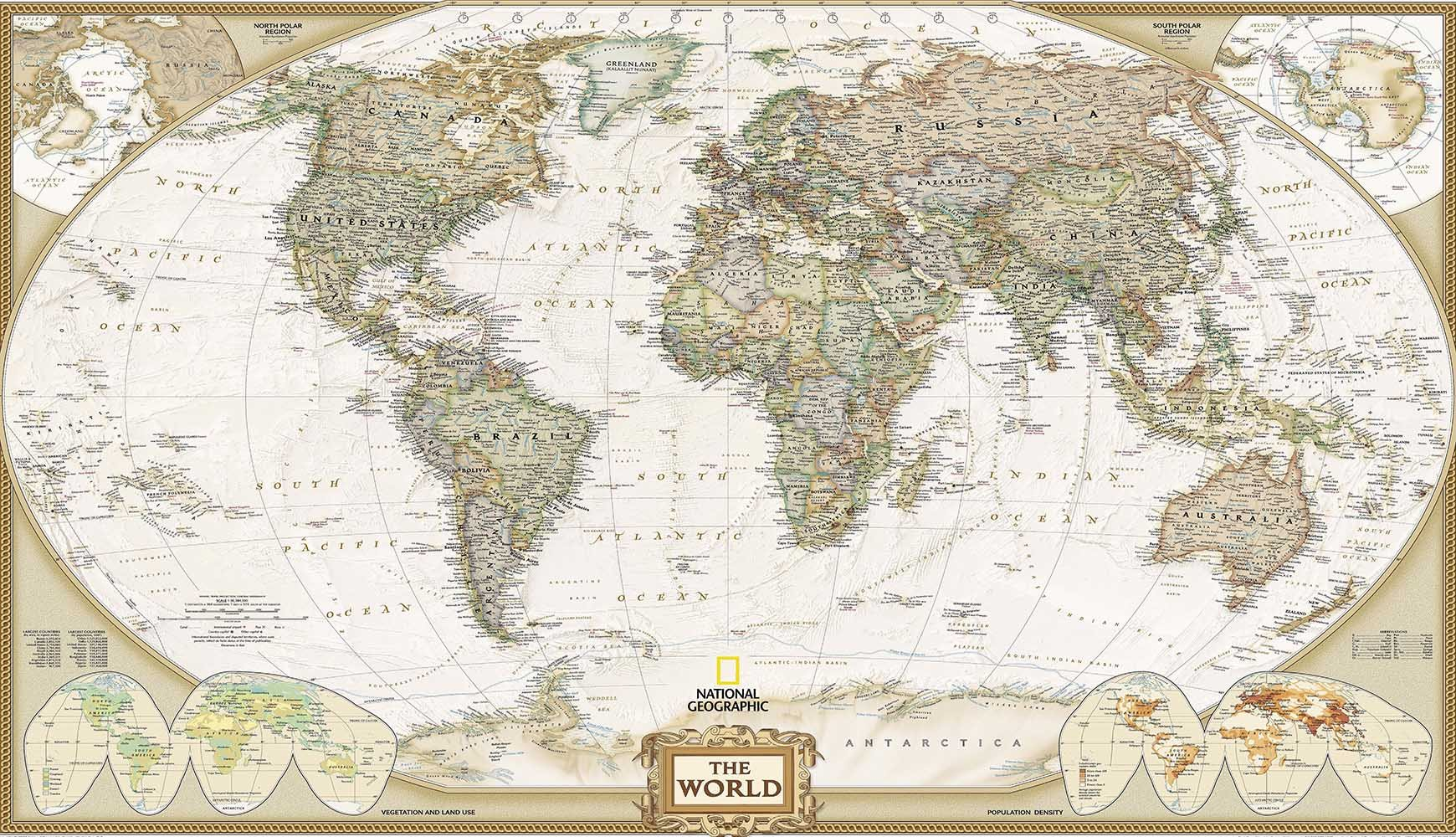World Map 2 Wallpaper AJ Wallpaper