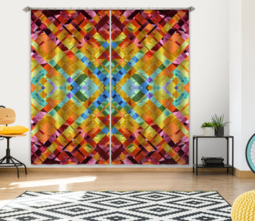 3D Color Weave 042 Shandra Smith Curtain Curtains Drapes
