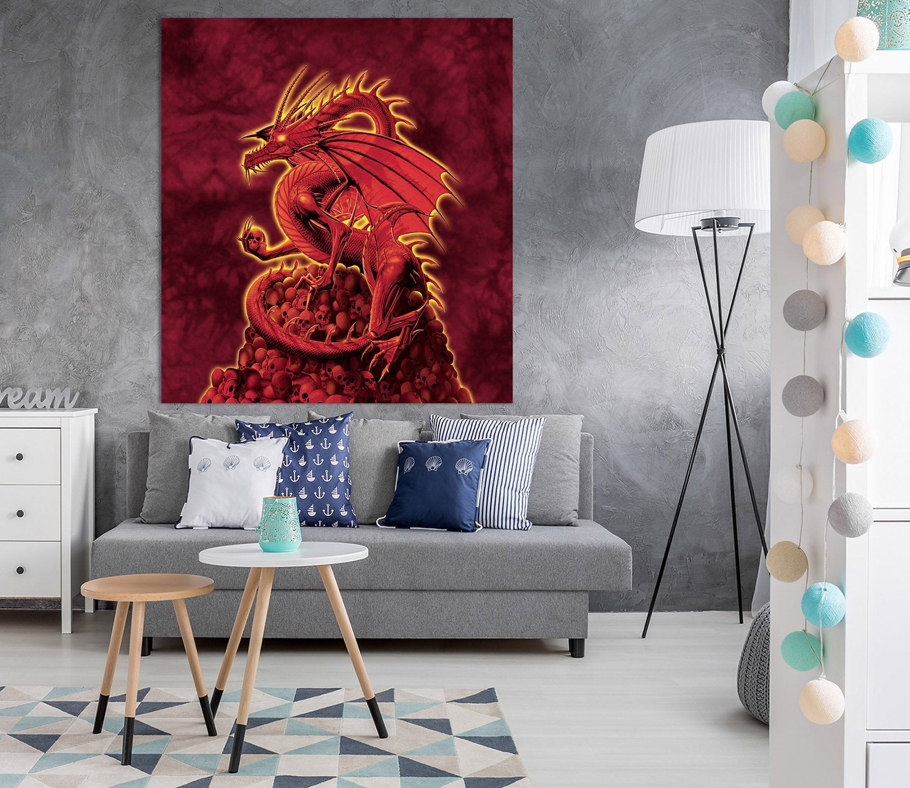 3D Abolisher Red Version 006 Vincent Hie Wall Sticker