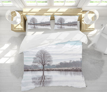 3D Lakeside Tree 1081 Assaf Frank Bedding Bed Pillowcases Quilt