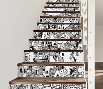3D Graffiti 6643 Stair Risers Wallpaper AJ Wallpaper