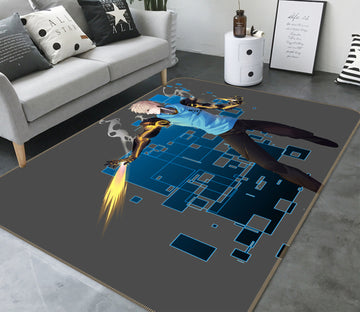3D One Punch Man 7867 Anime Non Slip Rug Mat