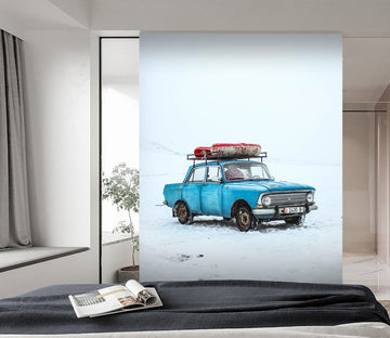 3D Auto Automobile 427 Vehicle Wall Murals