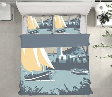 3D Newlyn 2031 Steve Read Bedding Bed Pillowcases Quilt