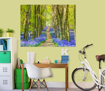 3D Forest Path 026 Assaf Frank Wall Sticker
