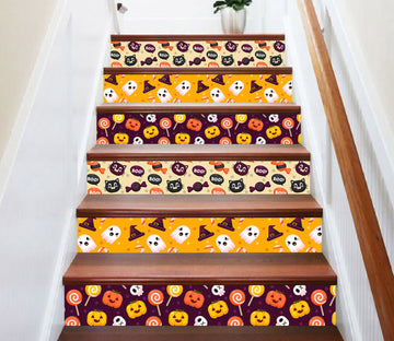 3D Fun Halloween decoration 657 Stair Risers