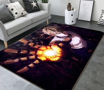 3D One Punch Man 7882 Anime Non Slip Rug Mat