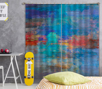3D Blue Clouds 231 Michael Tienhaara Curtain Curtains Drapes