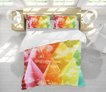 3D Triangle Color 70182 Shandra Smith Bedding Bed Pillowcases Quilt