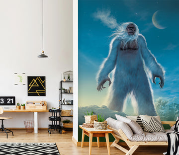 3D Giant Orangutan 1574 Wall Murals Exclusive Designer Vincent