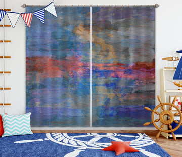 3D Color Sky 230 Michael Tienhaara Curtain Curtains Drapes