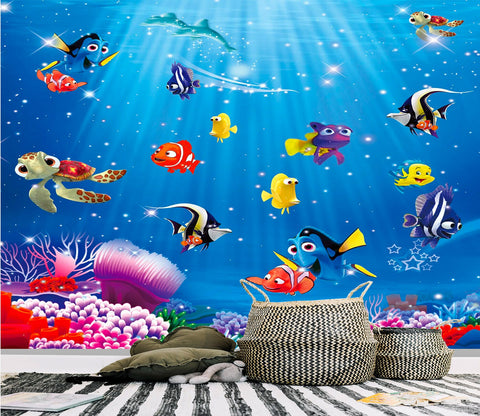 Cute Fishes Wallpaper AJ Wallpaper