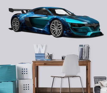 3D FP Sports Car 0173 Vehicles Wallpaper AJ Wallpaper