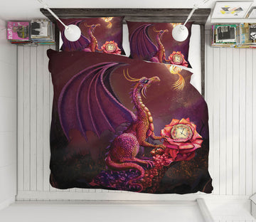 3D Phoenix Dragon 127 Rose Catherine Khan Bedding Bed Pillowcases Quilt
