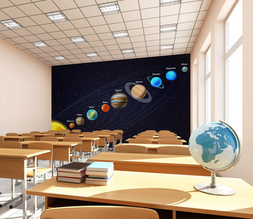 3D Space Planet 153 Wall Murals