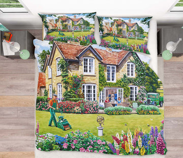 3D The Vicarage 2070 Trevor Mitchell bedding Bed Pillowcases Quilt