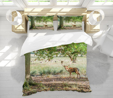 3D Fawn Tree 1064 Assaf Frank Bedding Bed Pillowcases Quilt