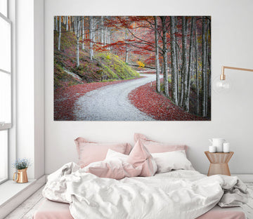 3D Forest Path 124 Marco Carmassi Wall Sticker