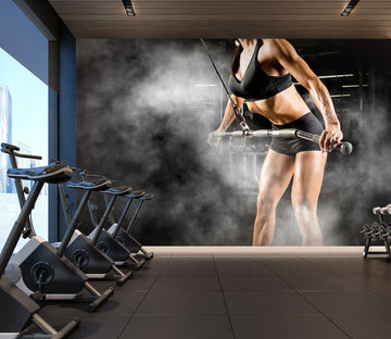 3D Fitness Equipment 297 Wall Murals