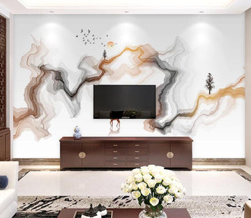 3D Sunbird Tree WC1809 Wall Murals